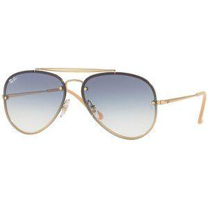 Ray-Ban Blaze Aviator Sunglasses Blue Gradient
